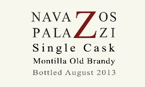 New Booze: Navazos-Palazzi  Single Cask Montilla Old Brandy